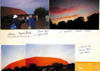Ayres Rock Australia 1992